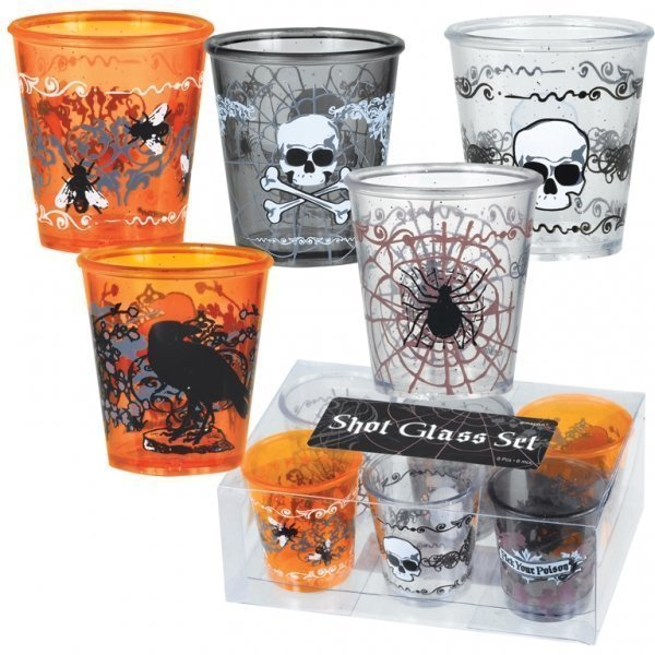 Набор пластиковых стаканов