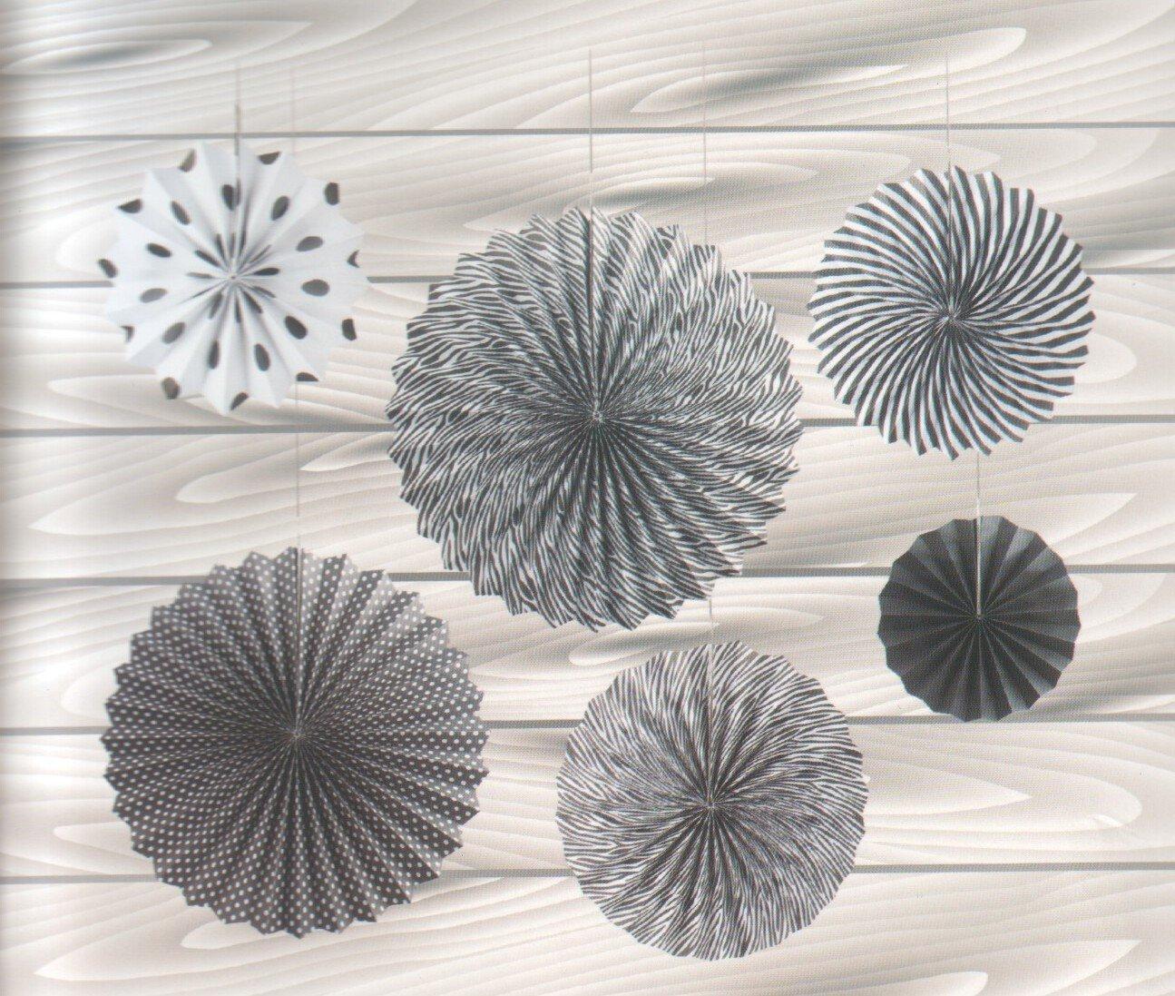 Бумажные подвесные украшения