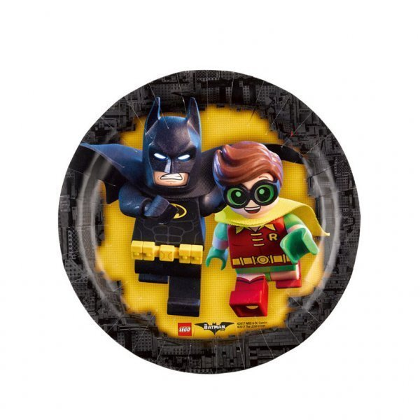 Тарелки с Бэтменом и Робином