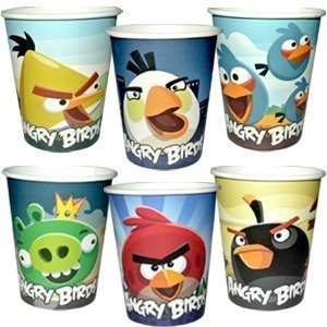 Стаканы Angry Birds - фото 1 | 4Party