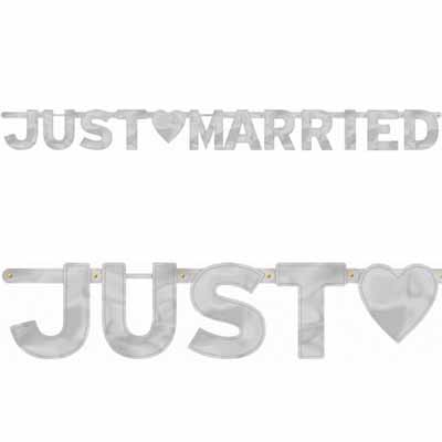 Гирлянда-буквы Just Married - фото 1 | 4Party