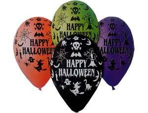 Воздушные шарики на Хеллоуин - 4party