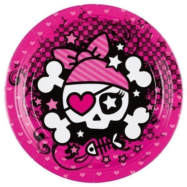 Pink girl pirate party supplies — photo 2