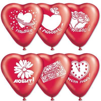 Воздушные шары на 8 Марта - 4party.ua
