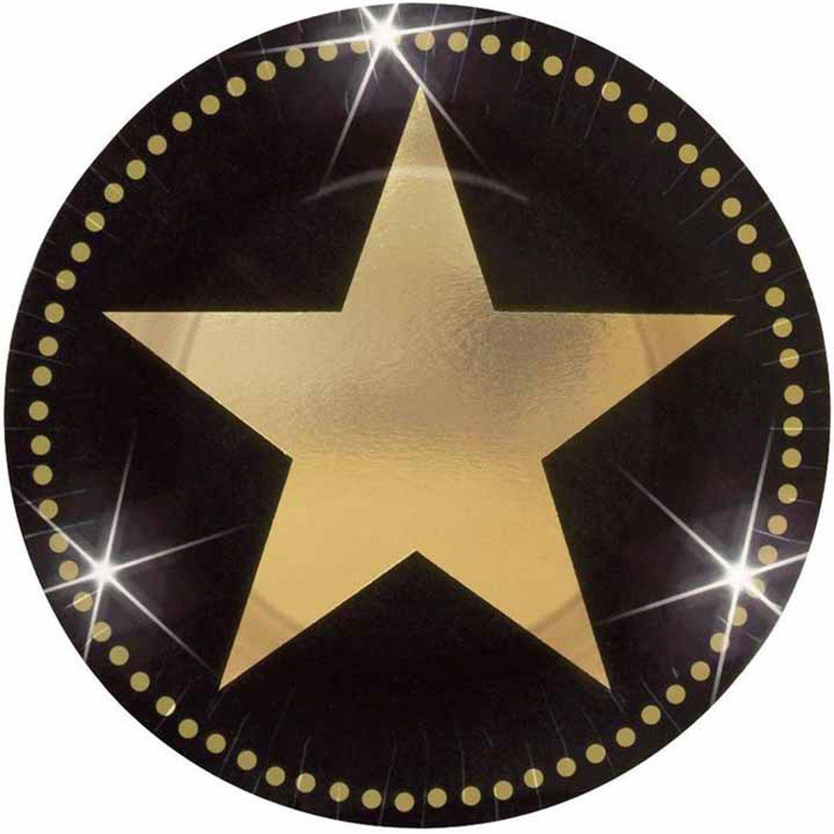 Тарелка со звездой