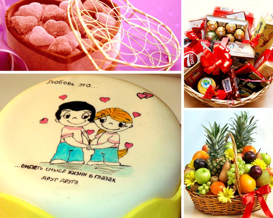 Подарки на 14 февраля  redcuberu
