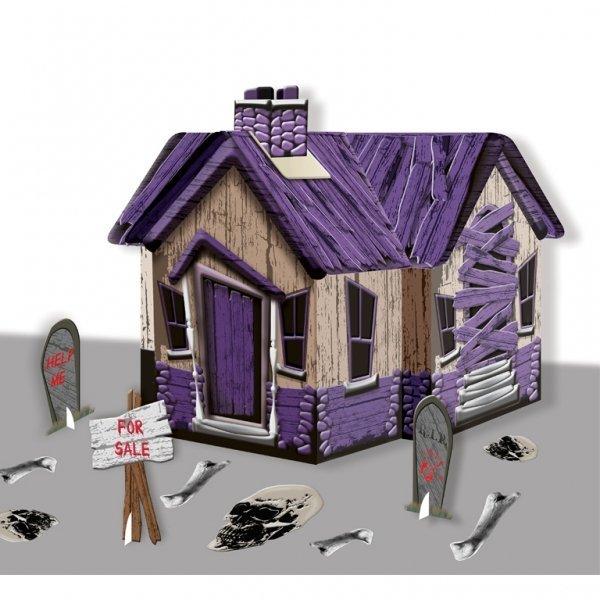 Картонный дом с привидениями