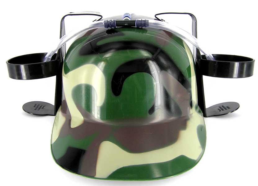 Пивной шлем камуфляж – 4party.ua