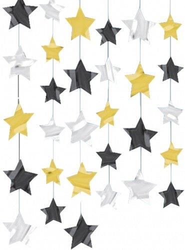 Гирлянда с блестящими звездами