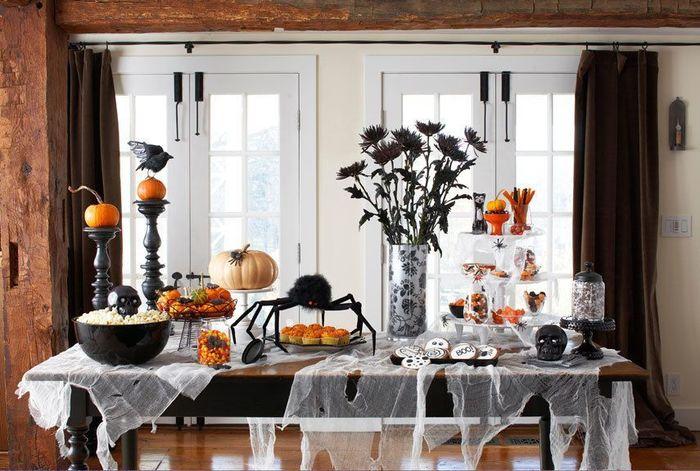 Как украсить комнату на Хэллоуин: отмечаем праздник дома - фото 2 | 4Party