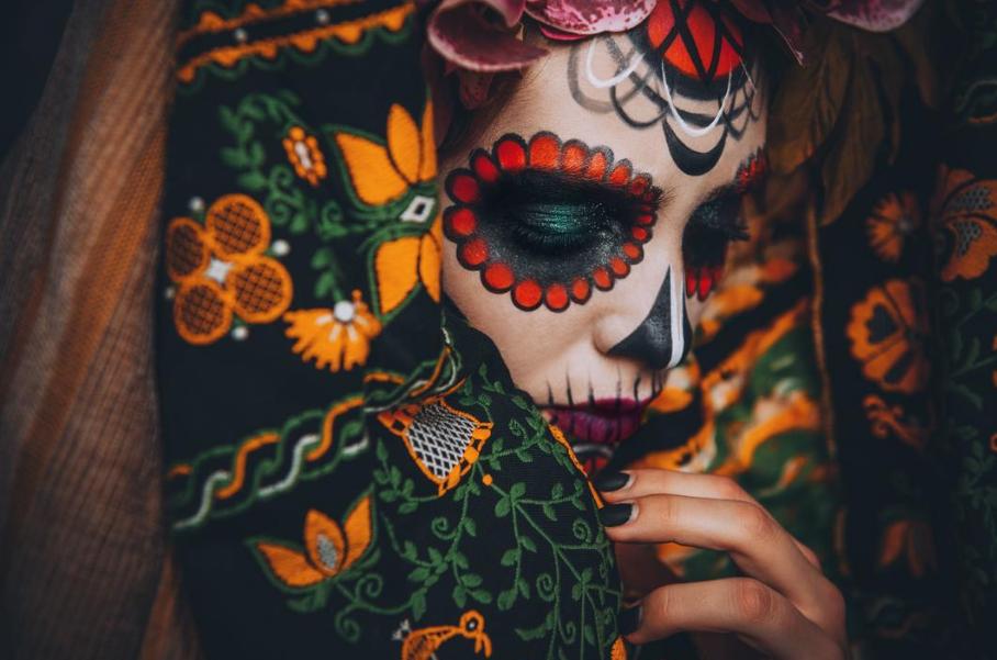 Образ на Хэллоуин и День Мертвых: Санта Муэрте - фото 7 | 4Party