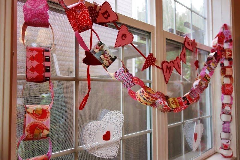 Как украсить дом, квартиру на День святого Валентина, идеи декора - фото 1 | 4Party