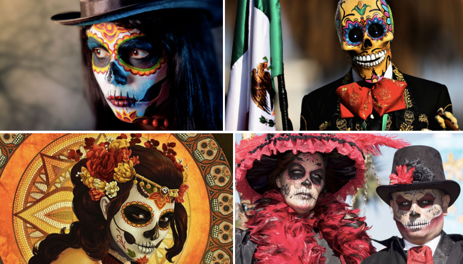 Образ на Хэллоуин и День Мертвых: Санта Муэрте - фото 4 | 4Party