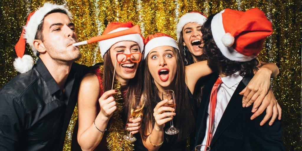 ТОП 10 оригинальных идей для новогодних вечеринок - фото 4 | 4Party