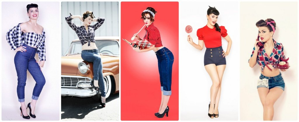 Образ в стиле пин ап работа в одессе вакансии для девушек