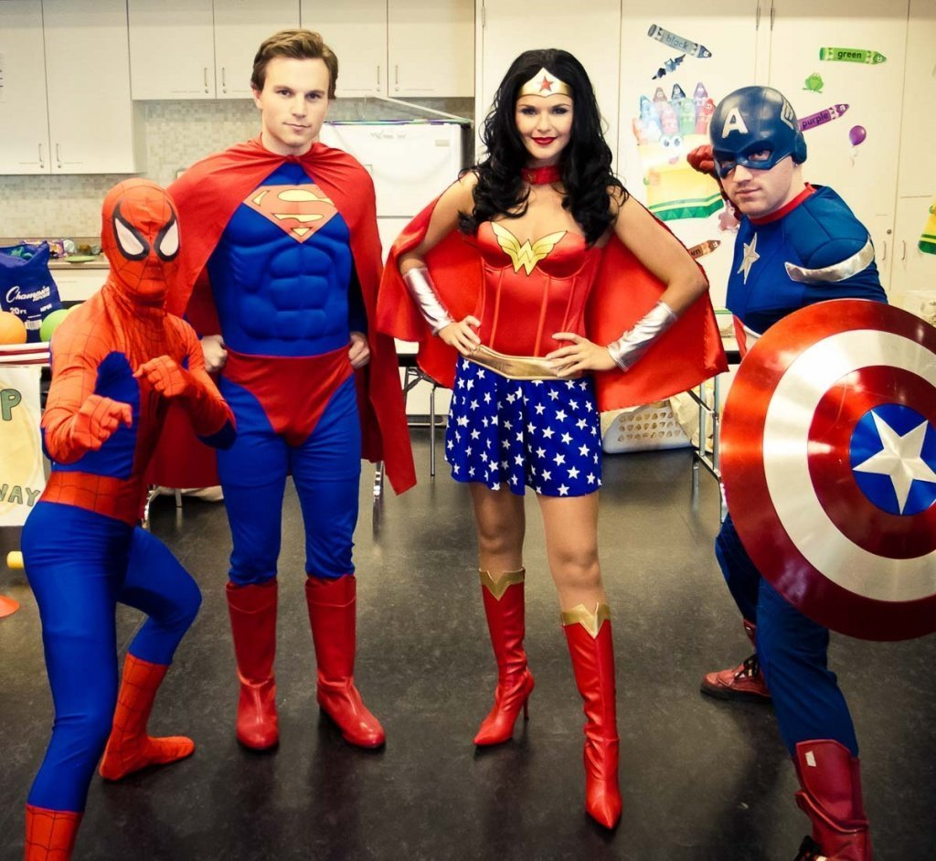 Идея корпоратива в стиле супергероев - фото 4 | 4Party