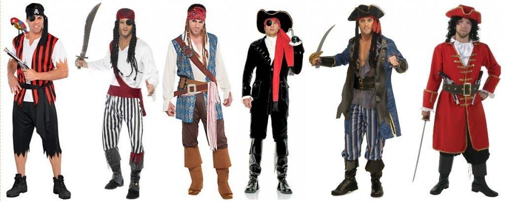 тип обработки костюм пирата для вечеринки взрослых плотном