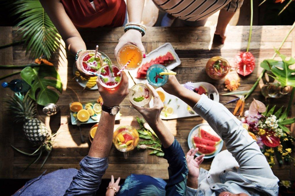 Идеи для весенних вечеринок на открытом воздухе - фото 3 | 4Party