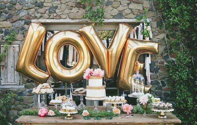 Воздушные шары на свадьбе: идеи оформления праздника - фото 5 | 4Party