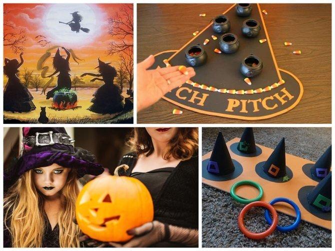 Домашний квест на Хэллоуин для взрослых и детей - фото 3   4Party