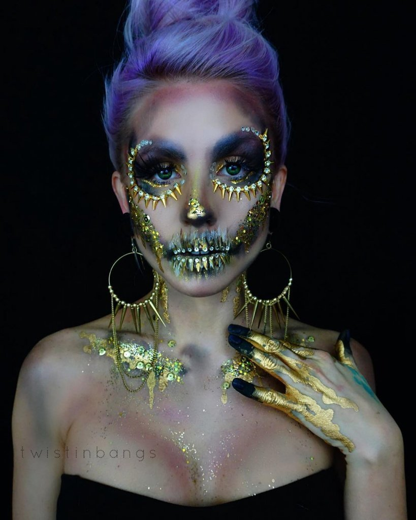 Макияж на Хэллоуин своими руками - фото 6 | 4Party