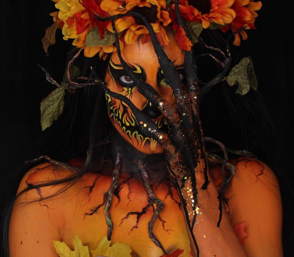 Макияж на Хэллоуин своими руками - фото 8 | 4Party