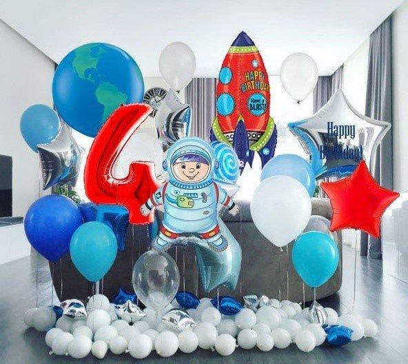 День рождения в космическом стиле - 4party.ua