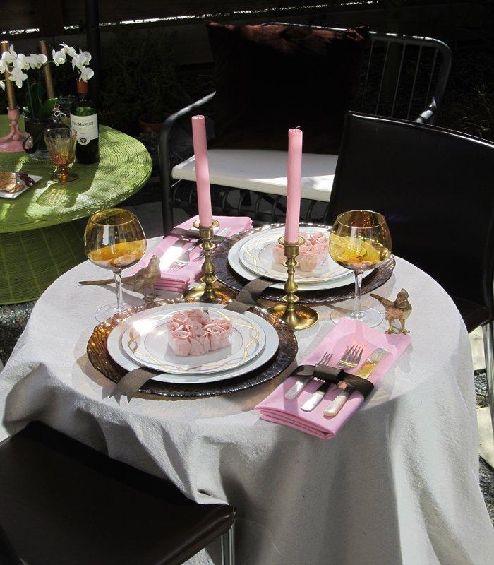 Как сервировать стол на День Влюбленных? Идеи, фото ко Дню Святого Валентина - фото 4 | 4Party
