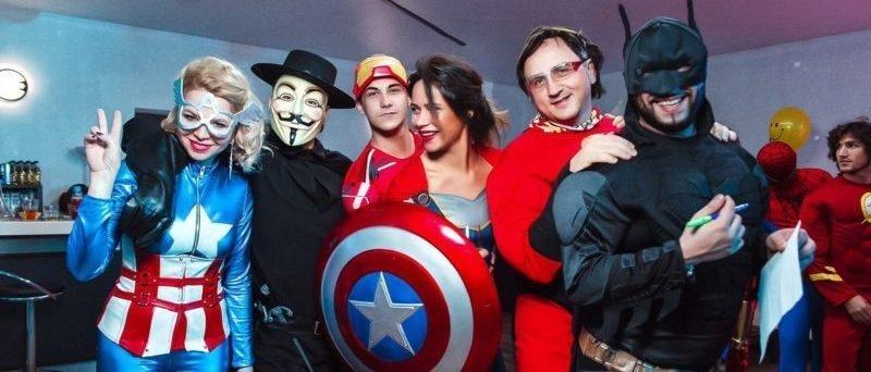 Идея корпоратива в стиле супергероев - фото 1 | 4Party
