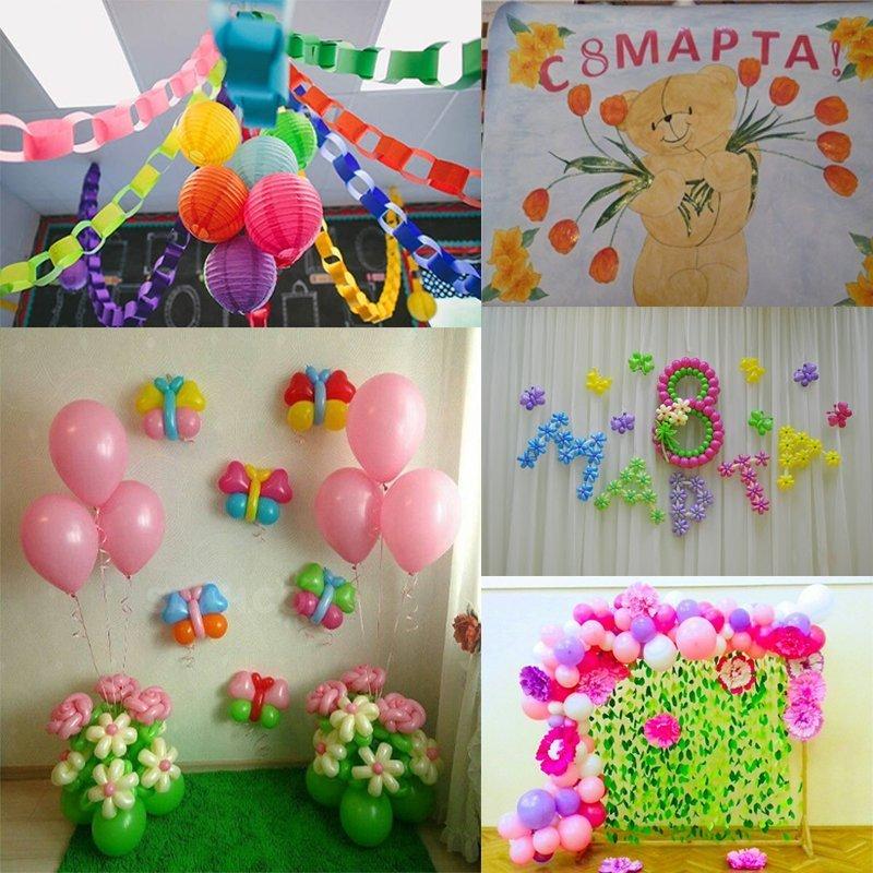8 марта в школе: идеи оформления, подарков, сценарии - фото 3 | 4Party