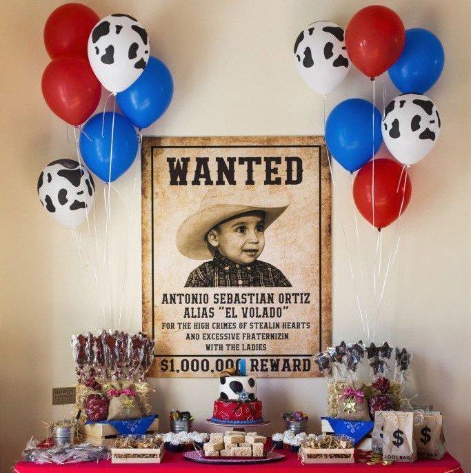 Ковбойская вечеринка для детей - фото 3 | 4Party