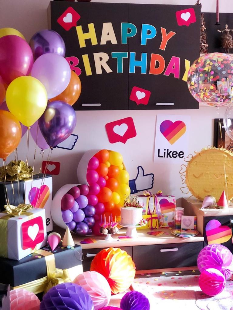 Идеи блогерских вечеринок: вечеринка в стиле Тик-Ток, Youtube Party, Инстаграм Пати - фото 1 | 4Party