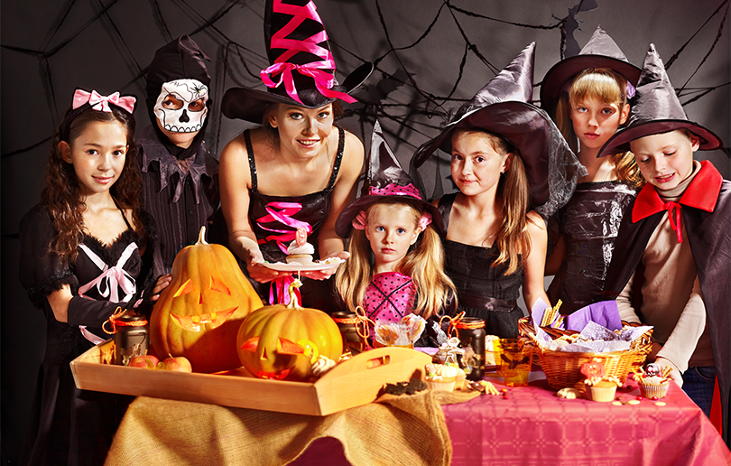 Вечеринка в стиле шабаш ведьм на Хэллоуин - фото 4 | 4Party