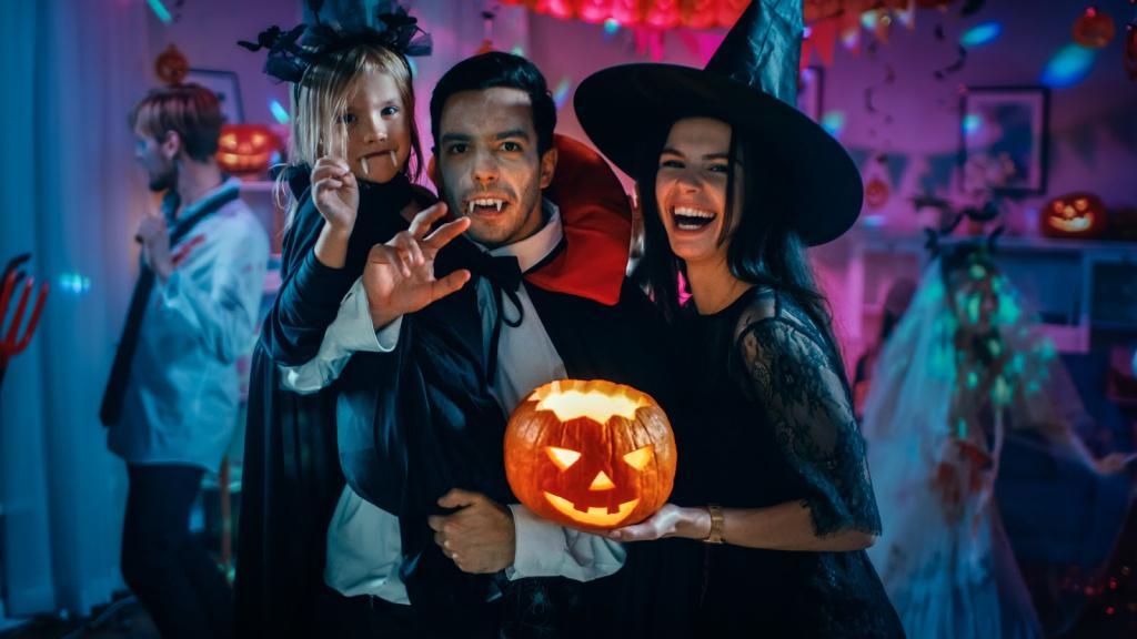 Как подготовиться к Хэллоуину? Как организовать праздник Хэллоуин на работе, дома, с друзьями - фото 1   4Party
