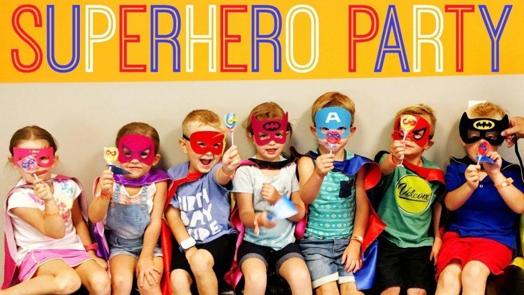 Все для вечеринки в стиле супергероев