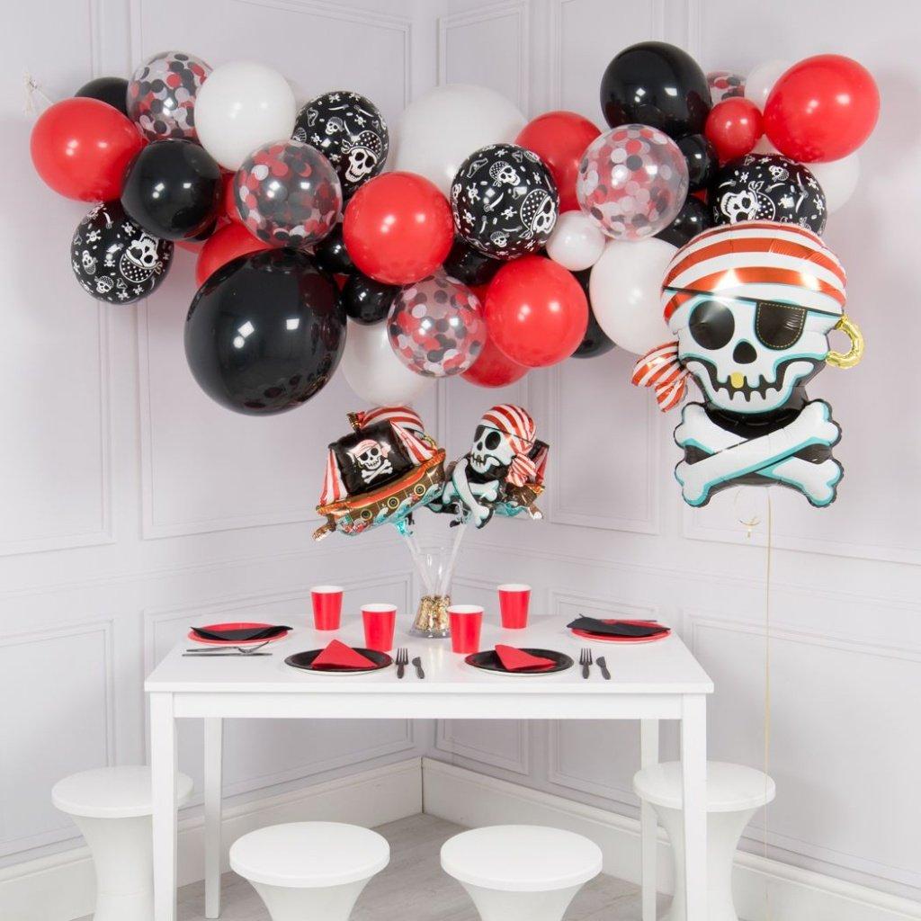 Оформление шарами вечеринки в пиратском стиле - фото 3 | 4Party