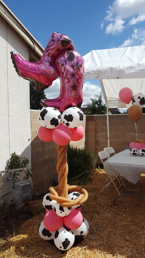 Оформление шарами вечеринки в ковбойском стиле - фото 4 | 4Party