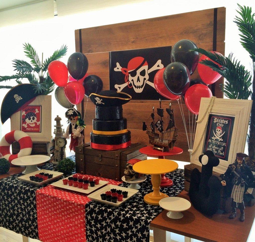 Оформление шарами вечеринки в пиратском стиле - фото 1 | 4Party