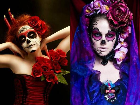 Образ на Хэллоуин и День Мертвых: Санта Муэрте - фото 5 | 4Party