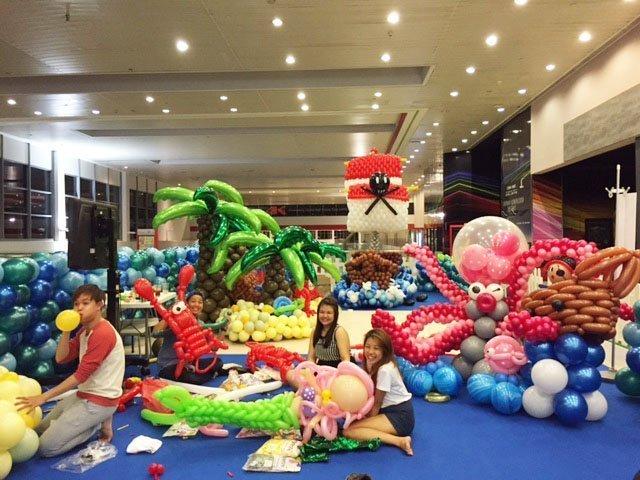 Оформление шарами вечеринки в пиратском стиле - фото 2 | 4Party