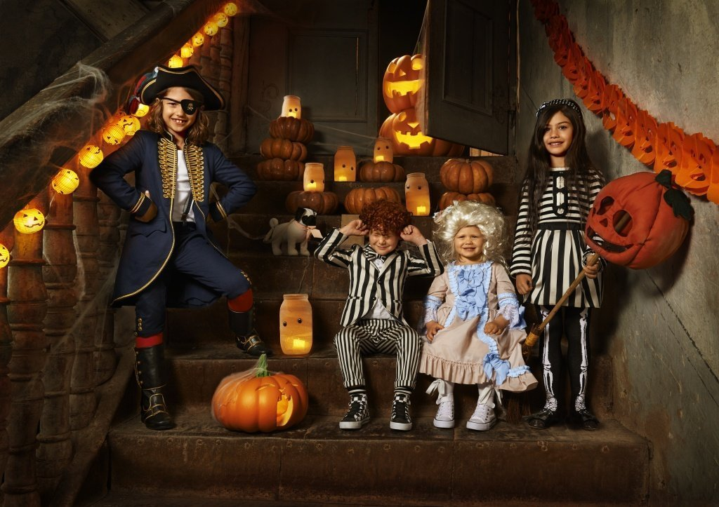 Образы на Хэллоуин для детей - фото 1 | 4Party