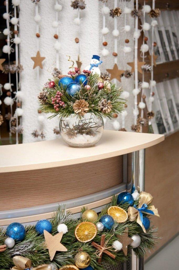 Как украсить офис на Новый Год 2020: идеи декора и оформления - фото 3 | 4Party