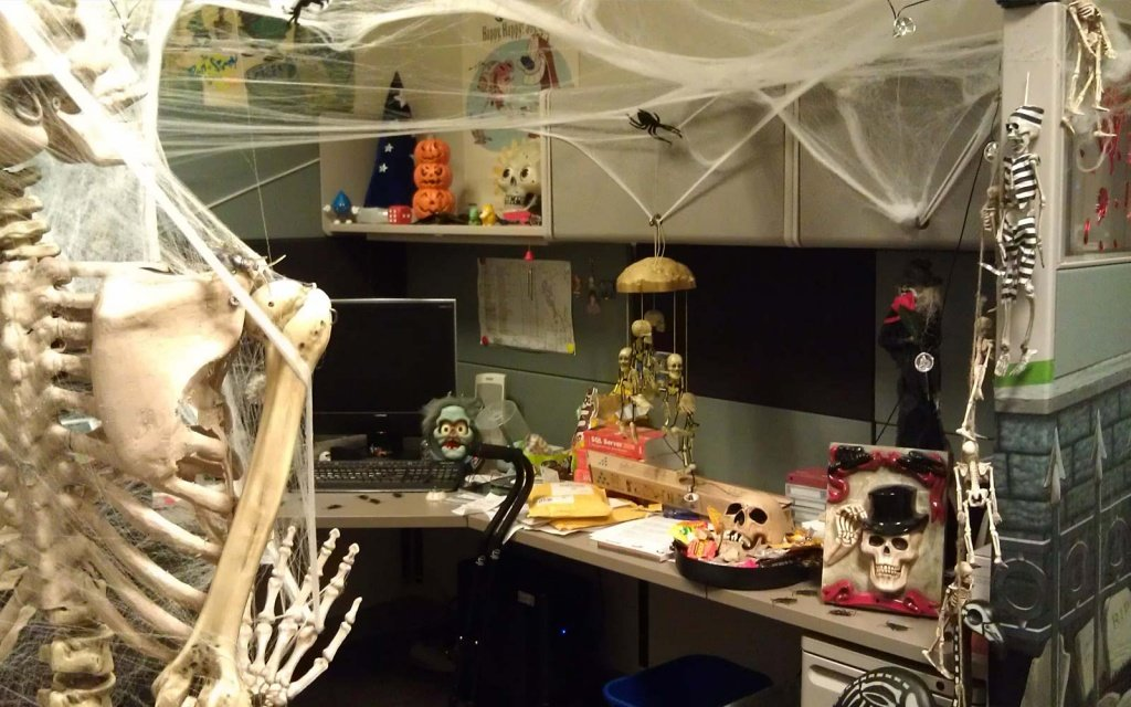 Декор офиса на Хэллоуин - фото 4 | 4Party