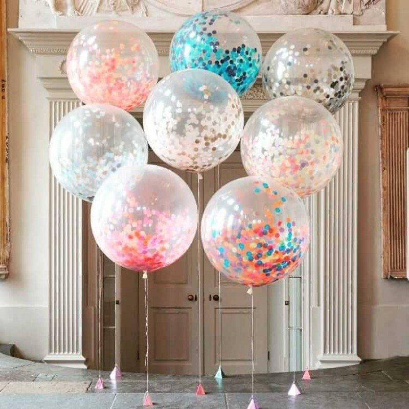 Воздушные шары на свадьбе: идеи оформления праздника - фото 2 | 4Party