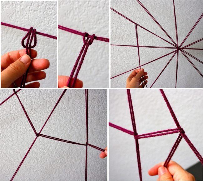Как сделать паутину на Хэллоуин - фото 3 | 4Party
