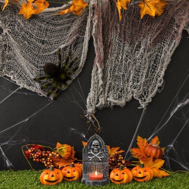 Как сделать паутину на Хэллоуин - фото 2 | 4Party