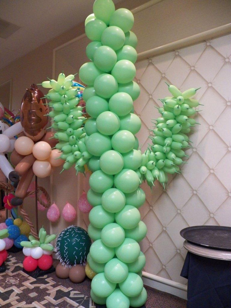 Оформление шарами вечеринки в ковбойском стиле - фото 6 | 4Party