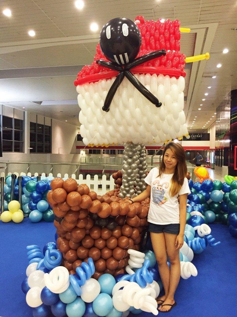 Оформление шарами вечеринки в пиратском стиле - фото 4 | 4Party