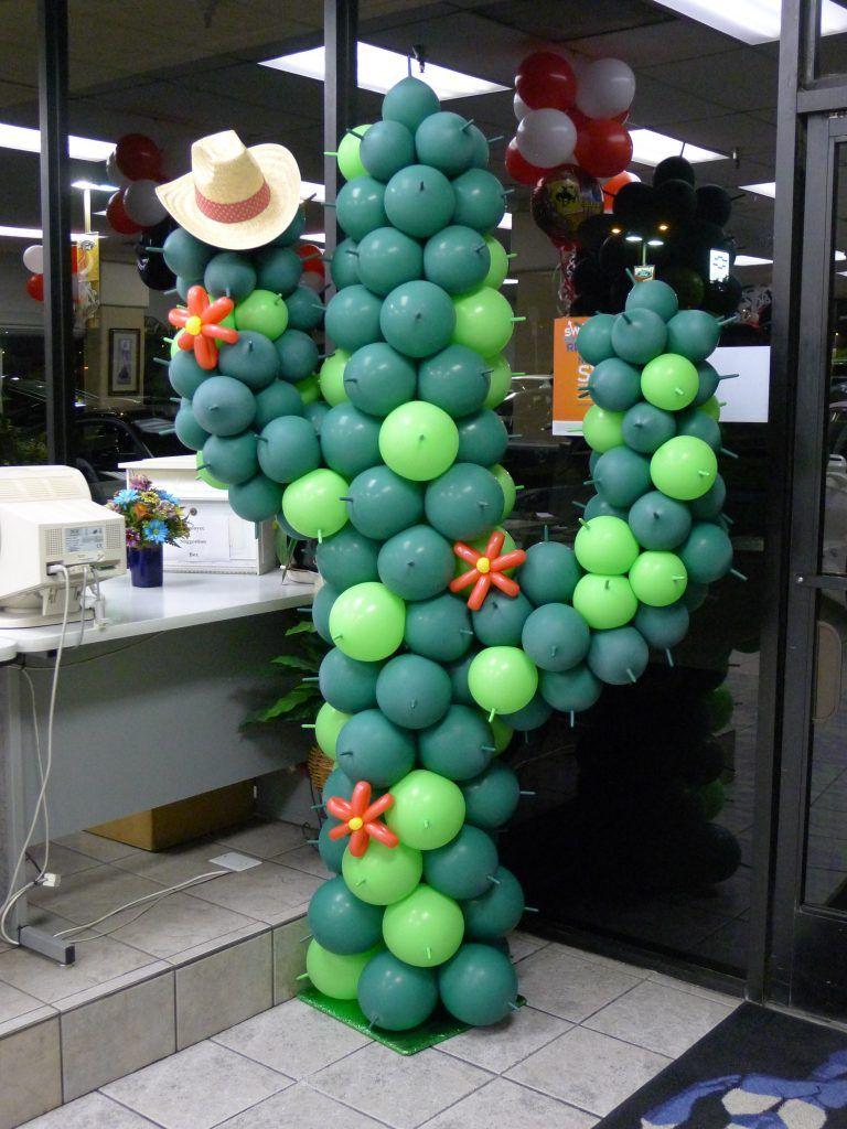 Оформление шарами вечеринки в ковбойском стиле - фото 3 | 4Party