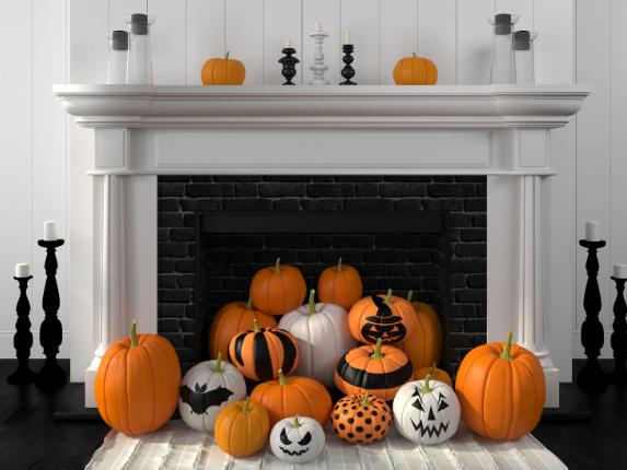 Как украсить комнату на Хэллоуин: отмечаем праздник дома - фото 1 | 4Party